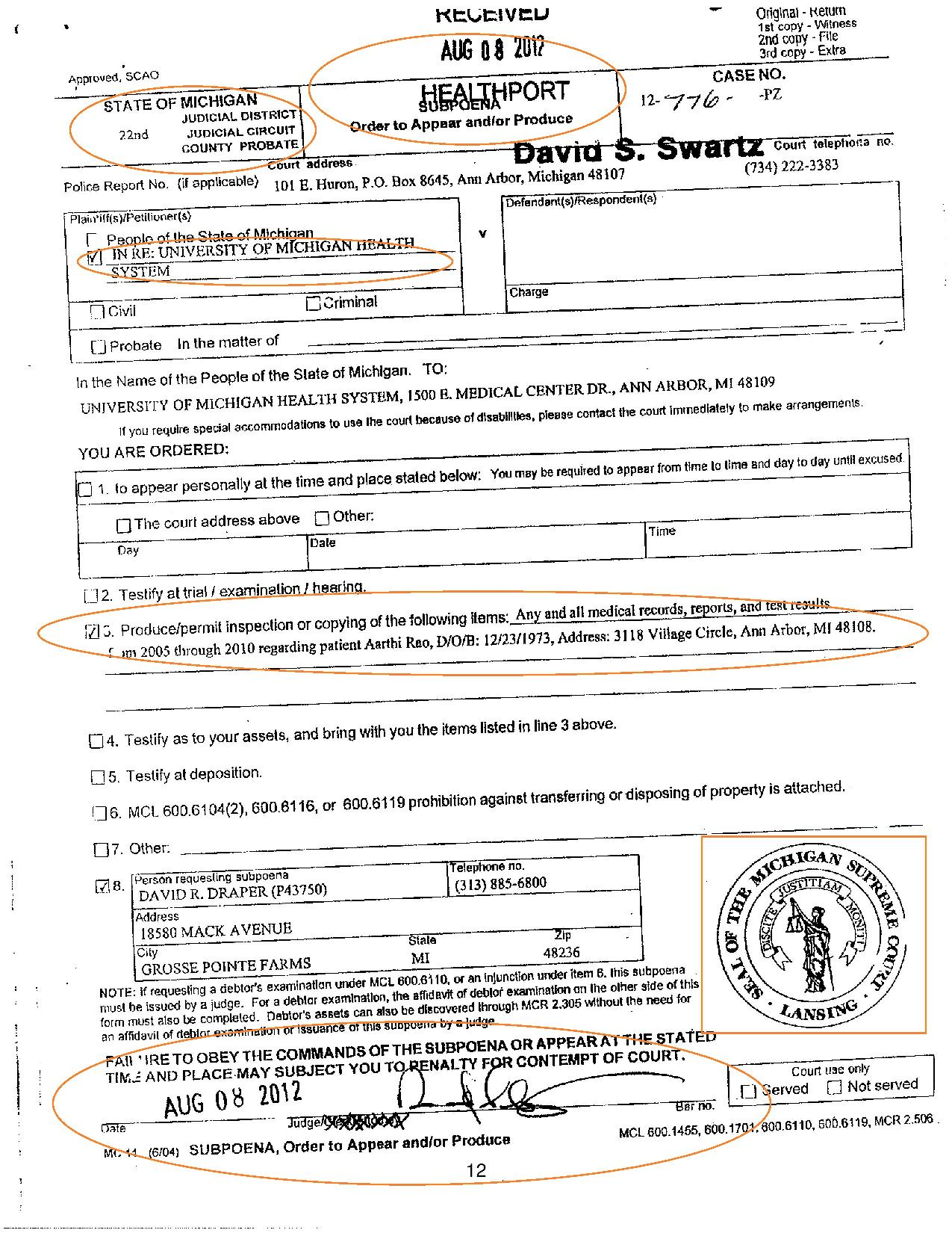 medical records summons-page-001
