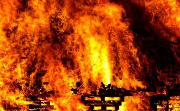 There were so many books that the fire burnt continuously for 6 months